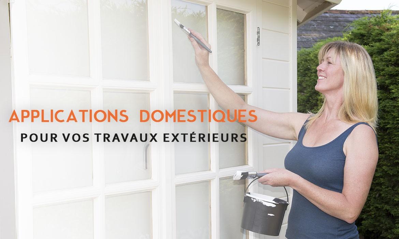 Peinture ral pour applications domestiques et tous vos travaux extérieurs